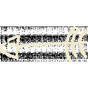 Outdoor Adventures- Stamp- White Arrow Doodle