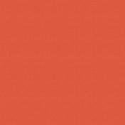 Outdoor Adventures- Solid Paper- Red Orange