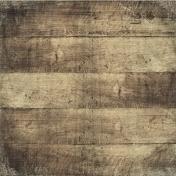 Outdoor Adventures- Rustic Wood Paper- Brown