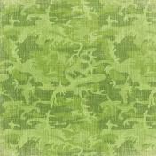 Outdoor Adventures- Green Camo Paper