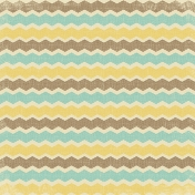 Outdoor Adventures- Chevron Stripes Paper