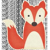 Outdoor Adventures- Fox Sticker