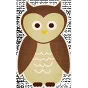 Outdoor Adventures- Owl Sticker