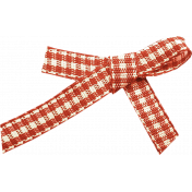 Outdoor Adventures- Red Gingham Bow