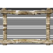 Outdoor Adventures- Rustic Wood Frame