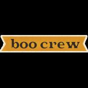 Spookalicious- Boo Crew Wordart