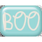 Spookalicious Blue Flair- Boo