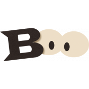 Spookalicious- Boo Wordart