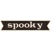 Spookalicious- Spooky Wordart