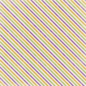 Spookalicious- Colorful Diagonal Stripes