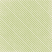 Spookalicious- Green Diagonal Striped Paper