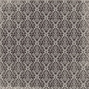 Spookalicious- Lacy Damask Paper