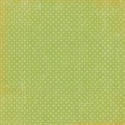 Spookalicious- Green Polka Dot Paper