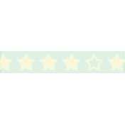 At The Fair- Washi Tape- Stars