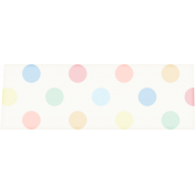 At The Fair- Washi Tape- Polka Dots Multi