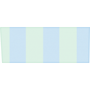At The Fair- Washi Tape- Stripes- Blue