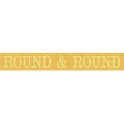 At The Fair- Tag- Round & Round
