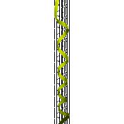 Chacos Curling Ribbon- Green