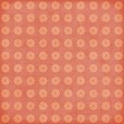Circles 18 Paper- Peach & Coral