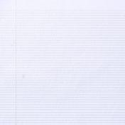 Notebook 02 Paper- Footsteps Blue