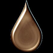 Bronze Water Drop