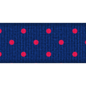 Blue Polka Dot Ribbon