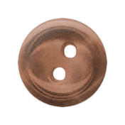 Button 13 - Brown