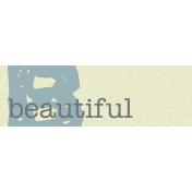 Beautiful Tag
