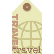 Travel Tag- Footsteps