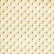 Polka Dots 32 Paper- Yellow & Brown