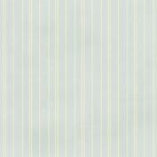 Stripes 58 Paper- Blue & Cream