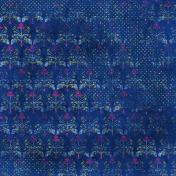 Floral Polka Dot Grunge Paper