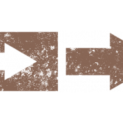 Brown Arrow Stamp