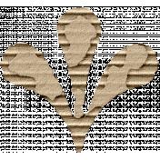 Footsteps Cardboard Flower 02