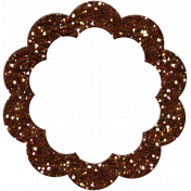 P&G Glitter Bit- Brown