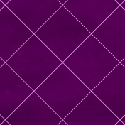 Argyle 20 Paper- Purple