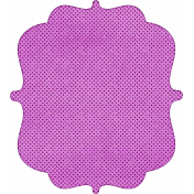 Bracket Shape 03- Purple