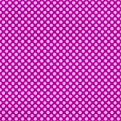 Polka Dots 23 Paper- Purple