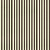 Stripes 54 Paper- Brown & Green
