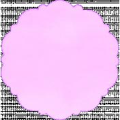 Circle Mat 01- Purple