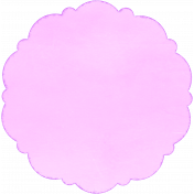 Circle Mat 01- Purple