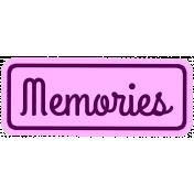 Memories Tag