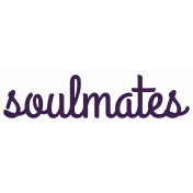 Soulmates Word Art