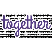 Together Word Art