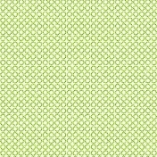 Circles 16 Paper- Green Glitter