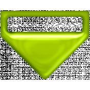 P&G Plastic Clip- Green