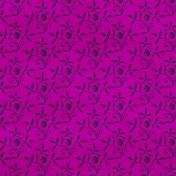 Floral 30 Paper- Purple