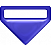P&G Plastic Clip- Blue