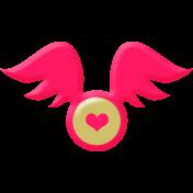 Wings Heart Brad
