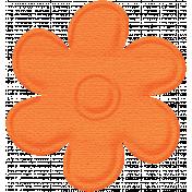Paper Flower- Orange
